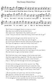 abc the bonny black hare www joe offer com folkinfo songs abc