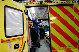 compassionate prince harry to ambulance crews u0027i know what you go