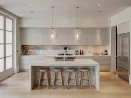 How To Design A Kitchen Island Layout Best 20 Contemporary Kitchen Island Ideas On Pinterest