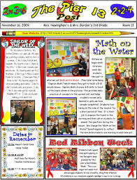 newsletter templates great ideas for parent communication