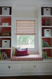 furniture 20 awesome photos diy built in bookcases with window