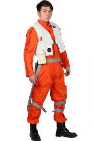 x wing fighter halloween costume aliexpress com buy poe dameron costume jumpsuit movie star