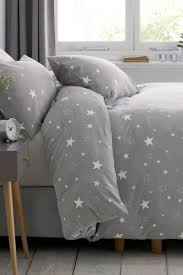 King Size Brushed Cotton Duvet Covers Grey Bedding U0026 Bed Linen Grey Duvet Covers Next Official Site