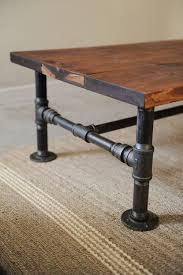 diy reclaimed wood table diy industrial coffee table the locker