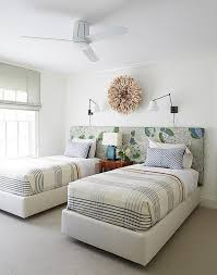 orange and tan boys room cottage bedroom traditional home