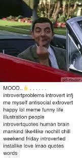 Meme Finder - gif finder mood introvertproblems introvert infj me myself