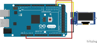 using i2c ssd1306 oled display with arduino electronics lab