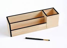 Wooden Desk Organizers Make It Minimal Wood Desk Organizer Curbly Wooden Desk Organizers
