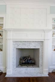 Paint Tile Fireplace by Gorgeous Greek Key Fretwork Fireplace With White Carrara Marble