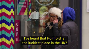 lottery number phone booth appears in romford town advising people