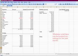 Monthly Bill Spreadsheet Excel Spreadsheet For Monthly Expenses Laobingkaisuo Com