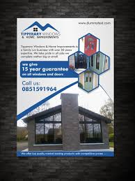 flyer design for tipperary windows u0026 home improvements by