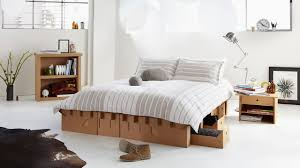 karton design proves it this cardboard bed is strong enough to support 2 tons