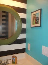 Green Powder Room Designed To The Nines From Worst To First