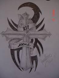 cross tattoos bolod rip ideas tattoos