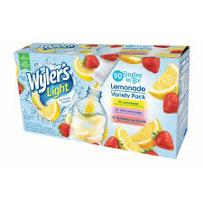wyler s light singles to go nutritional information wyler s light singles to go variety 11 28 oz 90 packets 1 count