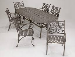 Rod Iron Patio Table And Chairs Painting Wrought Iron Patio Furniture Home Decorations Ideas