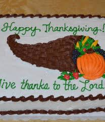 thanksgiving cake decorating photos