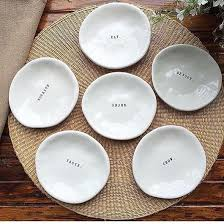 horderve plates dunn appetizer plates set of 6 modern rustic home