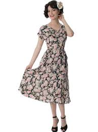 1930s style day dresses
