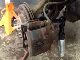 honda crv brake changing brakes on a honda crv 14 steps with pictures