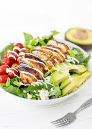Buffalo Chicken Grilled Buffalo Chicken Salad Recipe With Easy Ranch Dressing