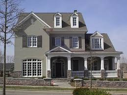 exterior paint for brick homes painted brick homes before and