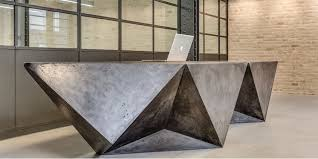 Designer Reception Desks Concrete Design Specialists Lowinfo Design