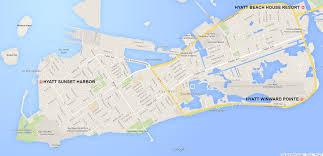 Map Key West Key West Hyatt Beach House Home Design Inspirations