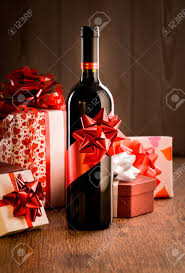wine christmas gifts wine bottle gift with ribbon and colorful christmas gift