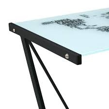 bureau metal verre bureau verre et metal bureau angle verre et metal meetharry co