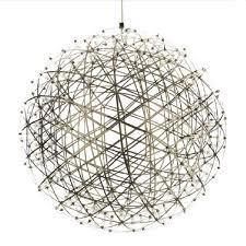 kiven sparking stars lights modern style globle shade stainless