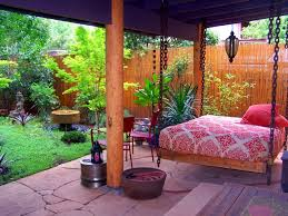 Backyard Rooms Ideas by Kitchen Entranching Backyard Decor Mixed With Brown Ceramic Pot