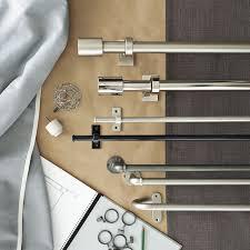 oversized adjustable metal rod west elm