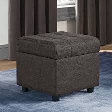 wade logan littrell square storage ottoman u0026 reviews wayfair