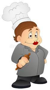mamie cuisine mamie de cuisine personnage de dessin animé illustration de
