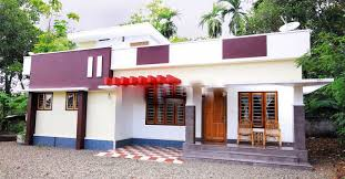 2 bedroom cute low cost effective kerala dream home in 1050 sq ft