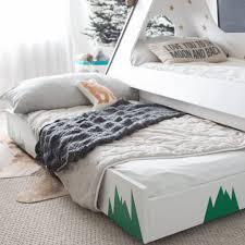 diy tepee kids u0027 bed popsugar home