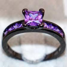 Purple Wedding Rings by Purple Stone Engagement Rings Online Purple Stone Engagement