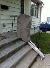 indy outdoor stair lift outside chair lifts exterior stair lifts