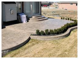 Cement Designs Patio Sted Concrete Patio Ideas Free Home Decor