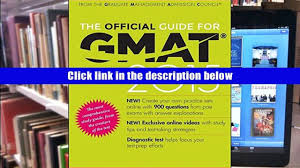 pdf the official guide for gmat review 2015 with online question
