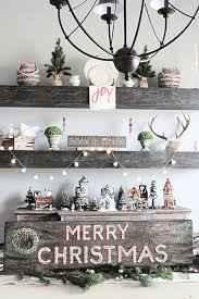 christmas home tour copy farmhouse christmas pinterest