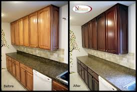 ideas for refinishing kitchen cabinets how to refinish kitchen cabinets kitchen cabinet refinishing