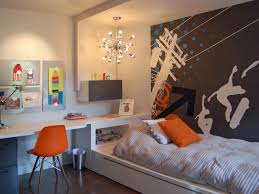 foxy image of boy bedroom decoraiton design using grey and white foxy