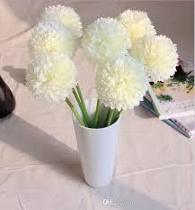 cheap artificial flowers 2018 green artificial hydrangea flower small green