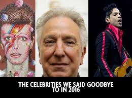 dead musicians and actors 2016 the celebrities who died in 2016 from david bowie to muhammad ali