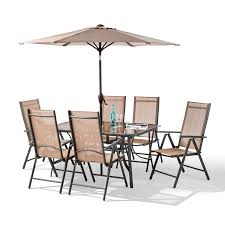 6 Piece Patio Set by 8 Piece Santorini Garden Patio Set 100 Aluminium Non Rust Frame