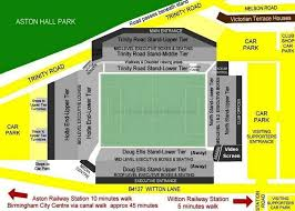 layout of villa park villa park aston villa fc football ground guide