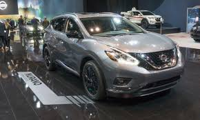 nissan pathfinder platinum midnight edition 2017 chicago auto show nissan u0027s midnight editions autonxt